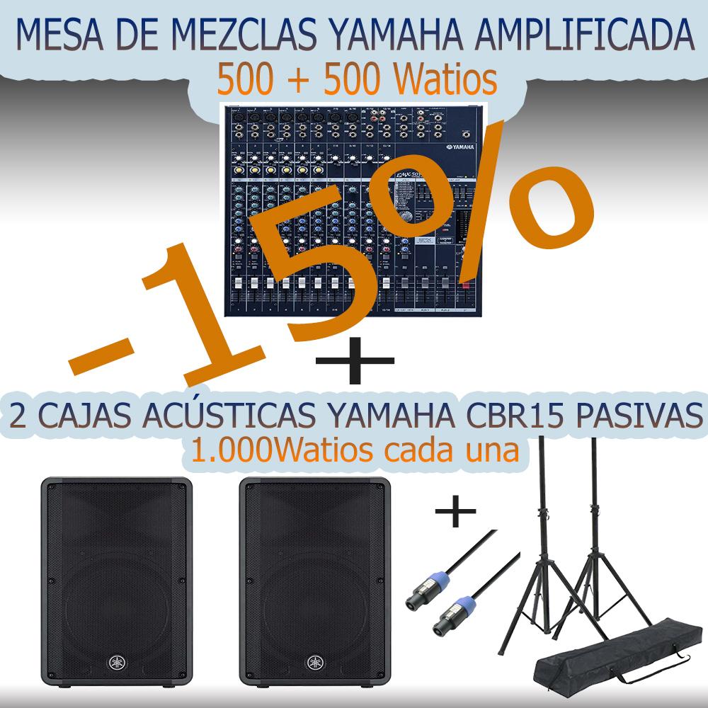 Promocion mesa mezclas yamaha amplificada lupe tienda de for Programa mesa de mezclas