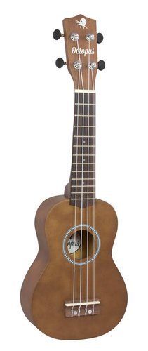 UKELELE OCTOPUS SOPRANO NATURAL CON FUNDA UK200NT