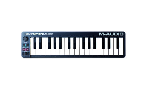 TECLADO CONTROLADOR MIDI M-AUDIO KEYSTATION MINI 32
