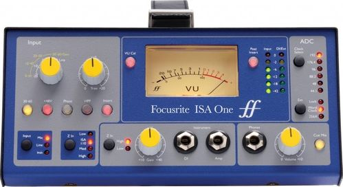 PREVIO MICROFONO FOCUSRITE ISA ONE ANALOGUE