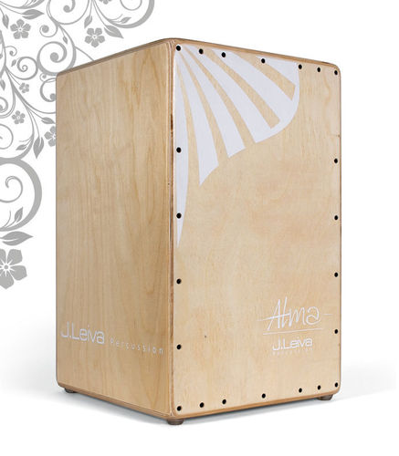 CAJON FLAMENCO LEIVA PERCUSSION ALMA NATURAL