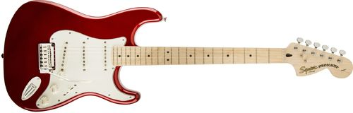 GUITARRA ELECTRICA SQUIER BY FENDER STANDARD STRATOCASTER CANDY APPLE RED