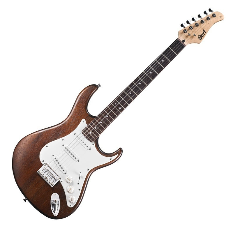 GUITARRA ELECTRICA CORT OPEN PORE WALNUT G100OPW